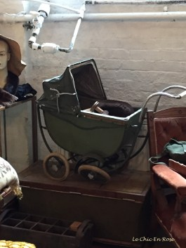 Old fashioned toy pram