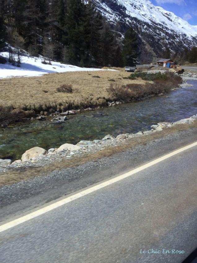 Mountain Valley En Route To St Moritz From Diavolezza