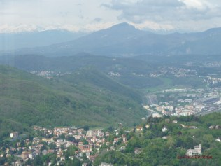 Brunate View Of Alps