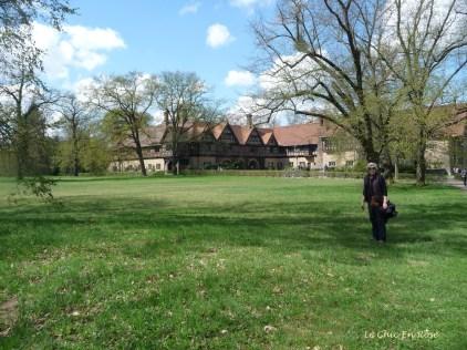 Cecilienhof Potsdam - View from Neuer Garten