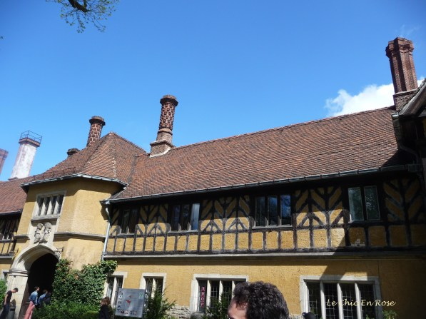 Cecilienhof Potsdam - Front Entrance