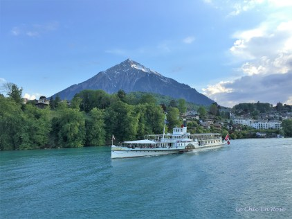 On Lake Thun Switzerland