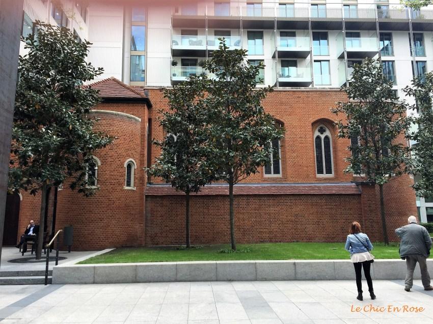 Pearson Square with Fitzrovia Chapel