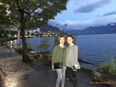 Mlle and Le Chic En Rose by Lake Geneva
