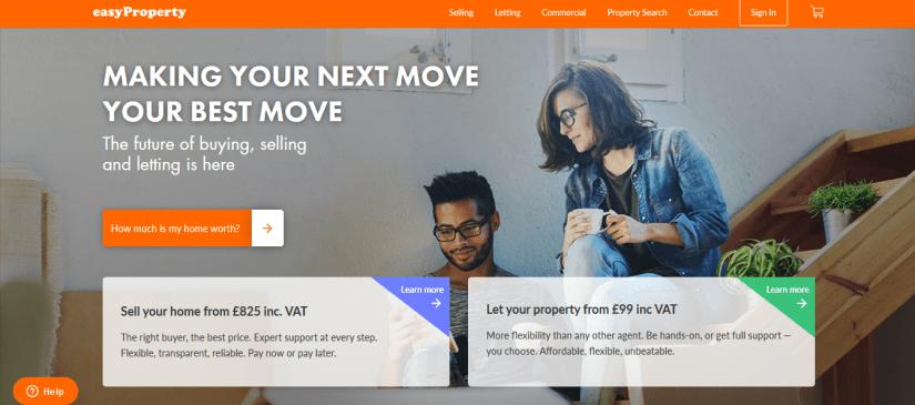 easyProperty homepage