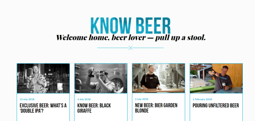 Brisbane Brewing Co - Know beer - builds authority