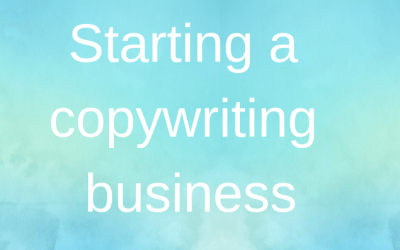Do this first if starting a copywriting business