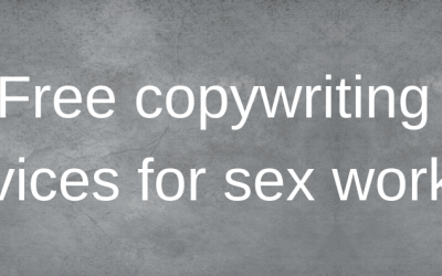 Free copywriting services for sex workers