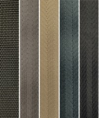 Polyester SeatBelt Webbing Material Colors from Rosemont Textiles - 2018 June 09