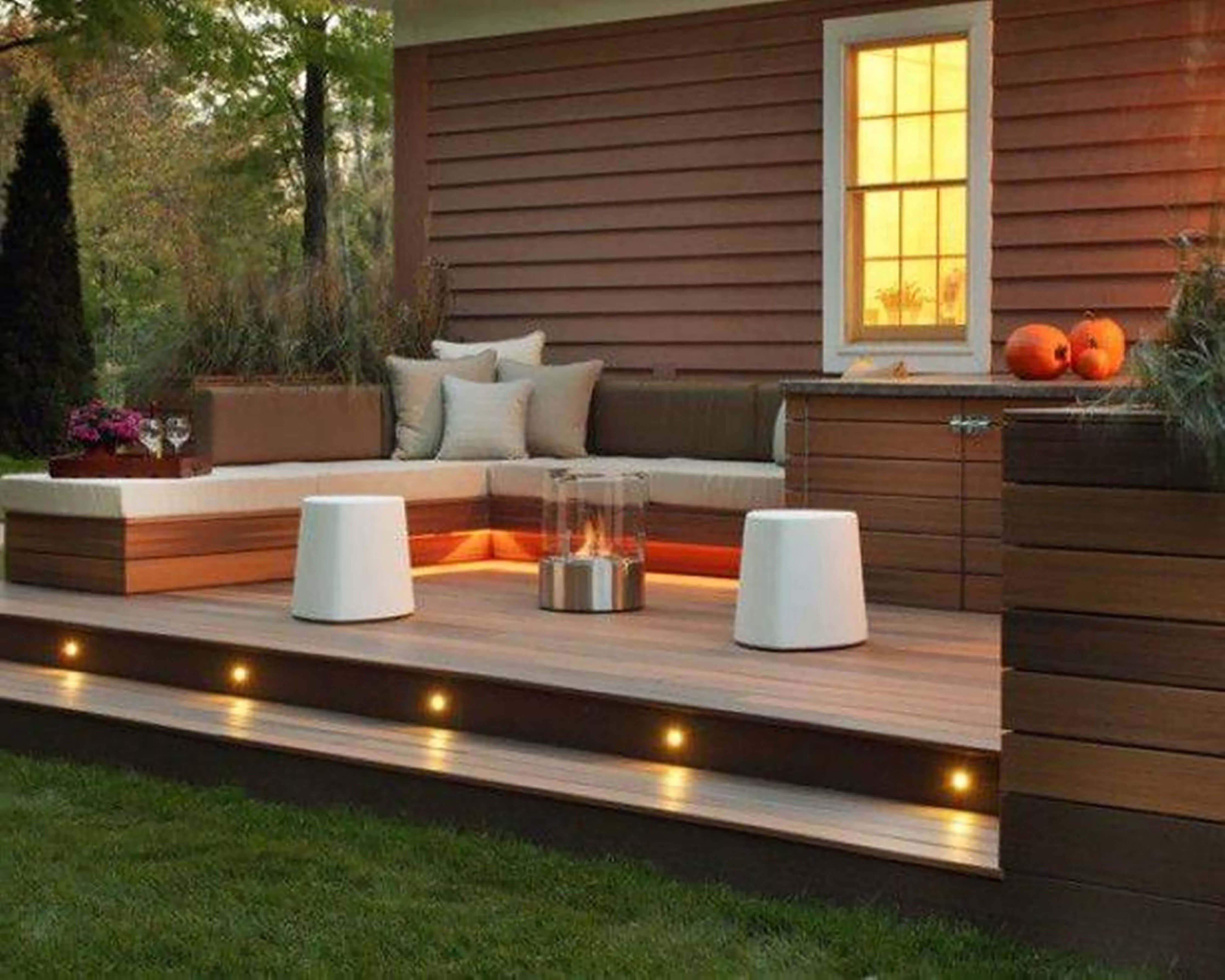 Decks & Outdoor Spaces | Rosengarten Construction on Small Back Deck Decorating Ideas id=78831