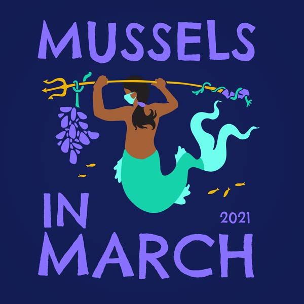 Mussels In March!