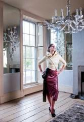 Latex Jacket and Skirt. Mistress Evilyne. Photo by Sheradon Dublin
