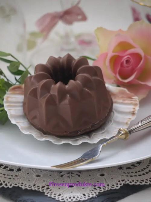 1 Schokoladen-Törtchen Schwarzwälder Kirsch