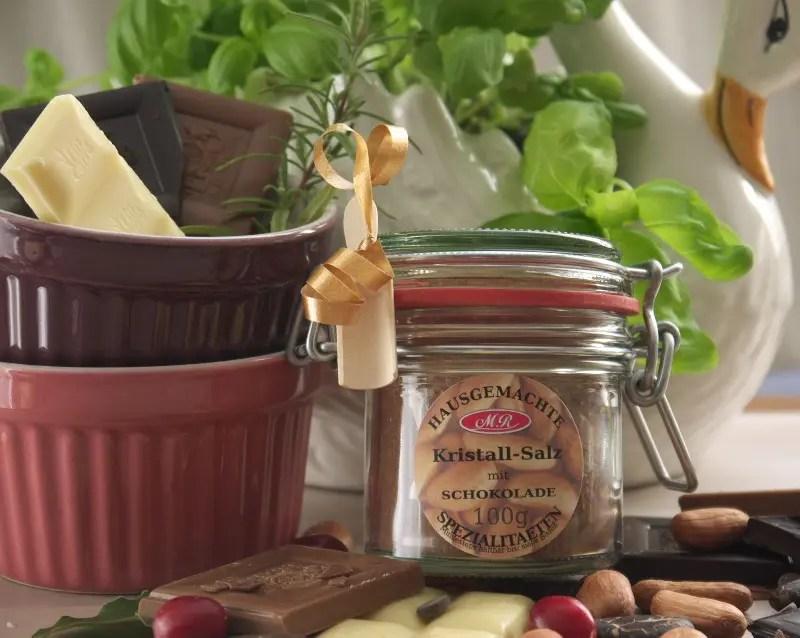Schokoladen-Salz