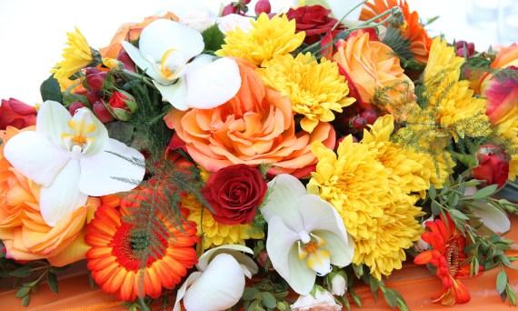 center piece of Flowers