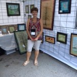 Angie at Bayou City Art Festival