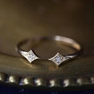 inel aur diamante