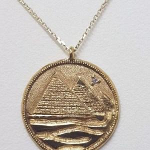 gold coin pyramids