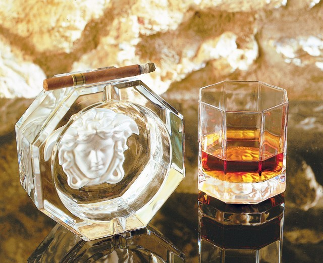 Rosenthal meets Versace, szklanka do whisky