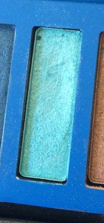 fard vert d'eau - palette Caribbean
