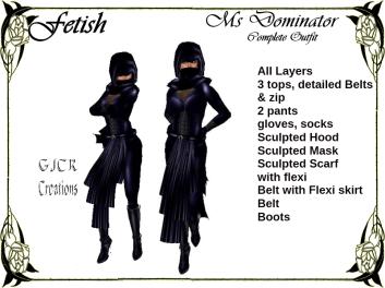[GJCR] Fetish ~ Ms Dominator in Blue