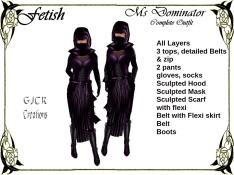 [GJCR] Fetish ~ Ms Dominator in Purple