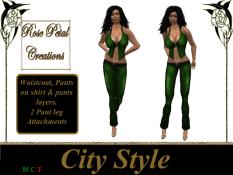 [RPC] Women ~ City Style ~ Green