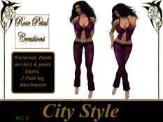 [RPC] Women ~ City Style ~ Plum