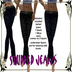 [RPC] Seperates ~ Studded Jeans512