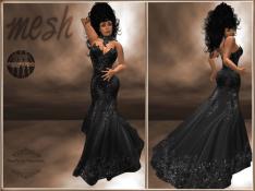 [RPC] MESH ~ Black Evening Gown