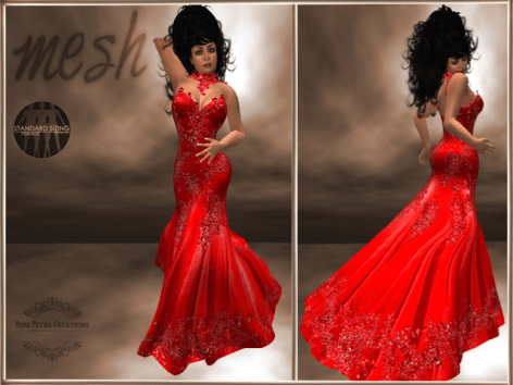 [RPC] MESH ~ Red Evening Gown