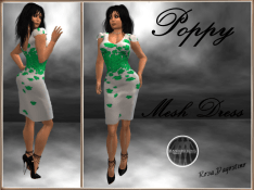 [RPC] MESH ~ Poppy Dress ~ Green