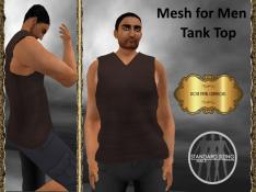 [RPC] Mesh for Men ~ Tank Top ~ Brown