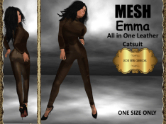 rpc-mesh-emma-catsuit-brown