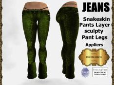 rpc-snakeskin-jeans-green