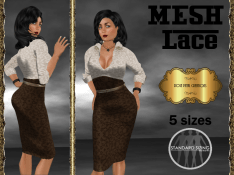 [RPC] MESH ~ Lace in Chocolate