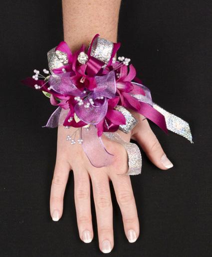 Purple Paradise Prom Corsage