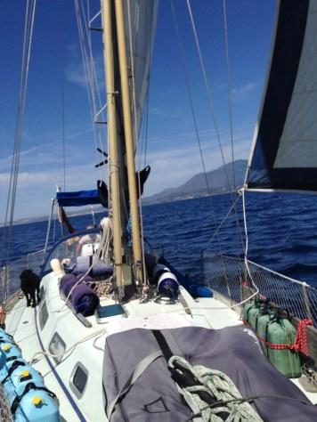 Finally sailing again!