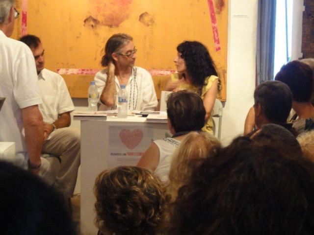 Roser Amills i Victor Amela presentacio Paraules d'Amor