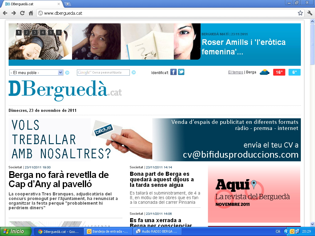 entrevista roser amills radio bergueda