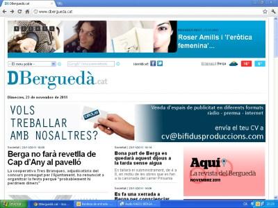 Entrevista Ràdio Berga | El plaer de la lectura, el vídeo de Roser Amills