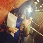 Hoy he batido mi récord de viajes en ascensor ;))