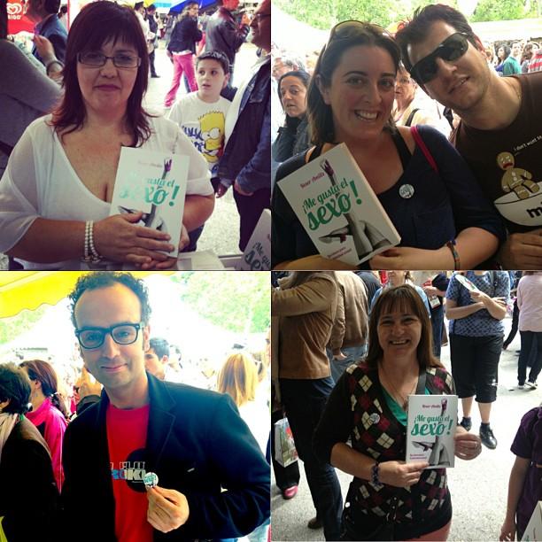 lectores de me gusta el sexo de roser amills en la feria del libro de madrid 2013