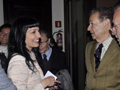 Foto | Luis Racionero y Roser Amills, casanovistas de pro :))