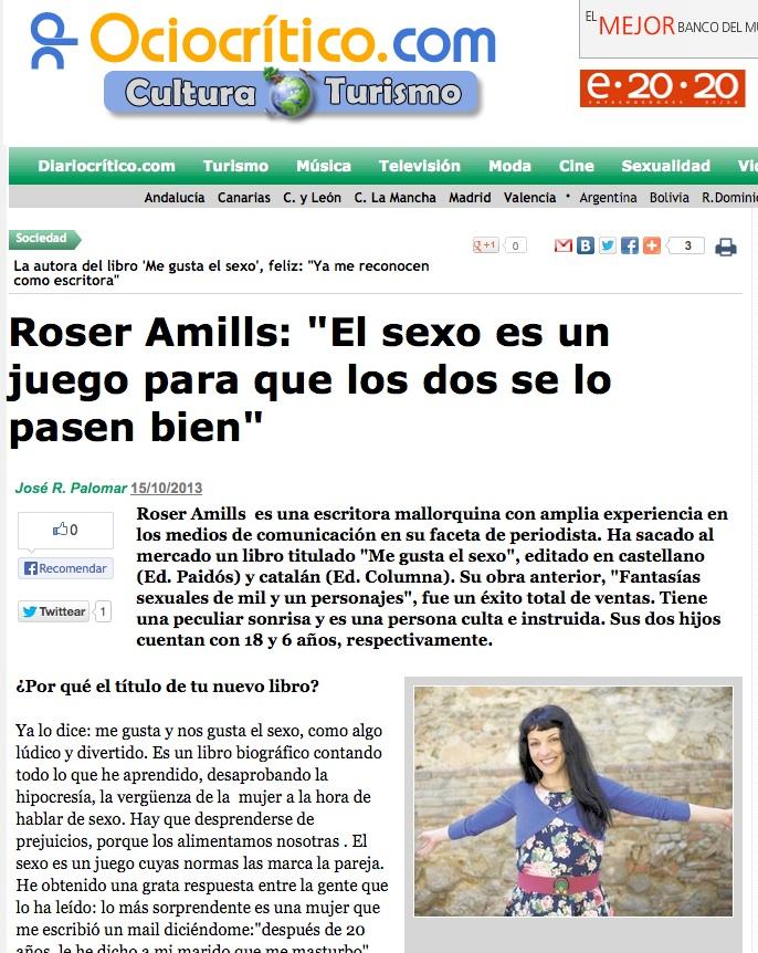 entrevista a roser amills en ociocritico