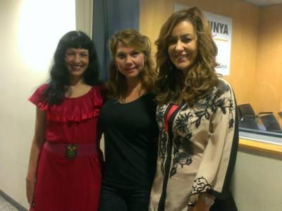 Con Erika Lust en Les mil i una nits de Catalunya Ràdio !!!