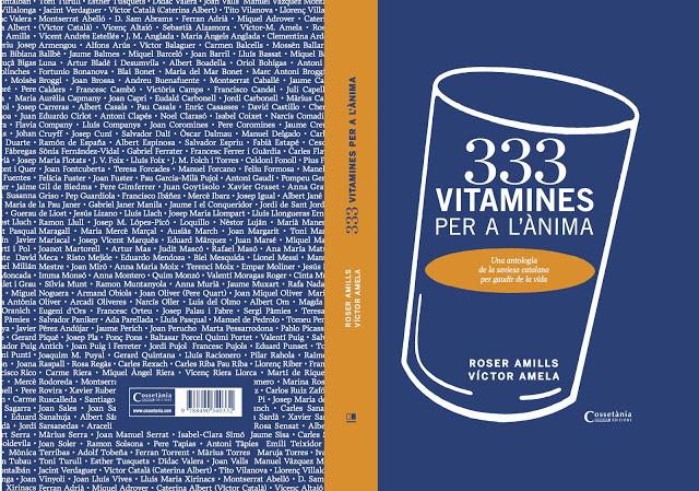333 vitamines de roser amills i voctor amela coberta desplegada sencera