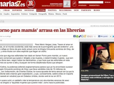Canarias | Las fantasías eróticas arrasan en las librerías