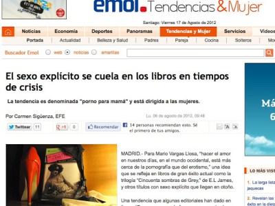Emol CHILE | Las fantasías eróticas y salvajes son tendencia