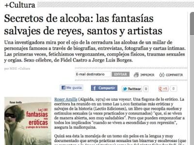 Publicado en +Cultura | Secretos de alcoba: las fantasías salvajes de reyes, santos y artistas